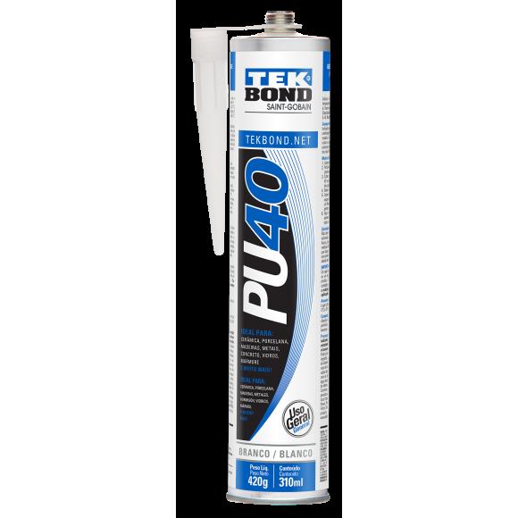 Adesivo PU40 Branco 310 ml- TEKBOND