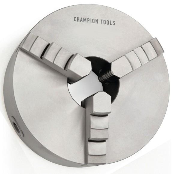 Placa para Torno 160MM Com 3 Castanhas Universais Champion Tools - 900.004