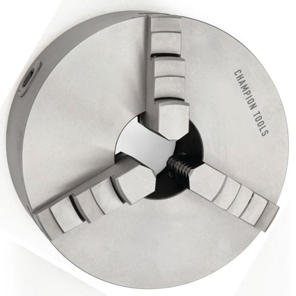 Placa para Torno 200MM Com 3 Castanhas Universais Champion Tools - 900.005