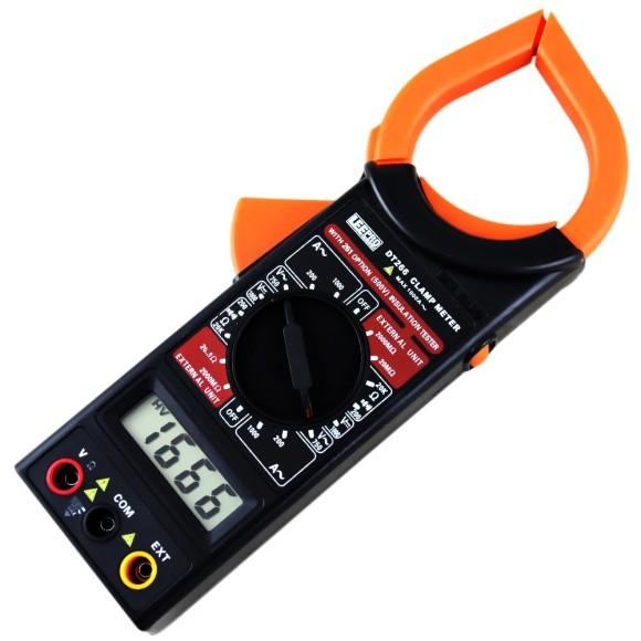 Alicate Amperímetro Digital Preto DT266 LEETOOLS - 673129